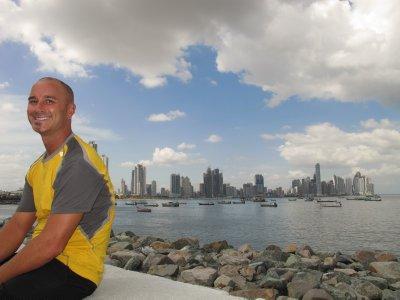 Andrew in Panama City