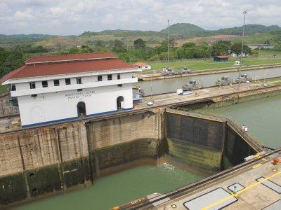 The Miraflores Locks