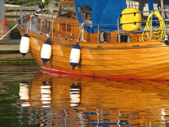 Wooden boat - Västervik