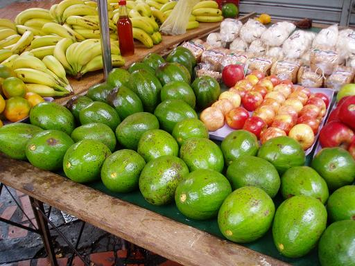 Caracas - these avocados are HUGE!!!
