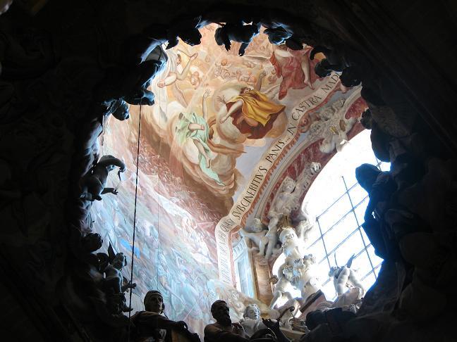Detail of church window - Toledo