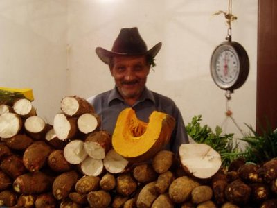 Man at the market - Caripe