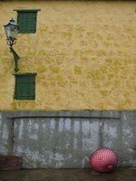 Yellow wall - Christiansö