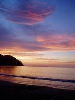 Playa Pui Puy - sunset