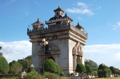 Pathuxay Monument