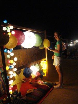 Night market in Mekong