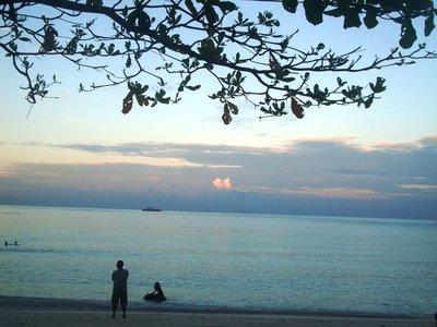 Sarangani Bay at dusk