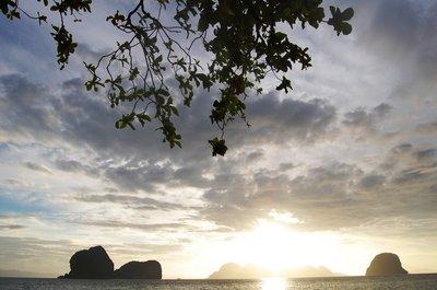 Sunrise in Koh Ngai