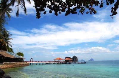 Early morning bliss in Koh Ngai Resort