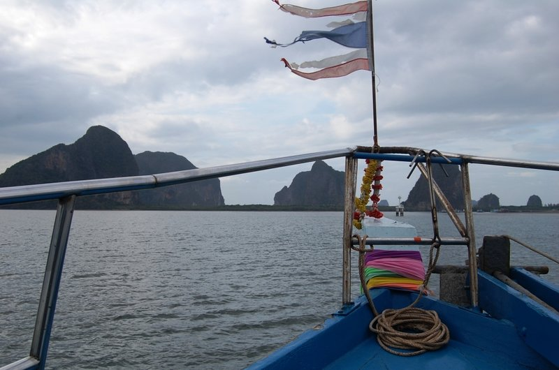 Ferry boat back to Trang town