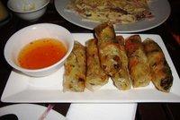 Yummy spring rolls at Kob Chai Deu Restaurant