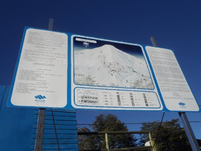 Map of the slopes