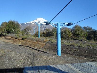 The ski slopes