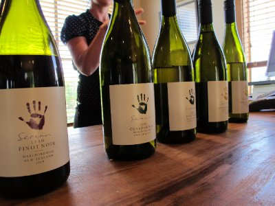 Seresin Wine tasting- organic and biodynamic, and tasty!