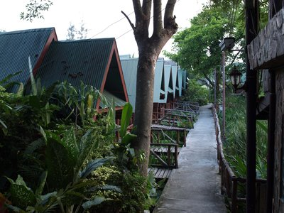 Bungalows at Blue Star Hostel