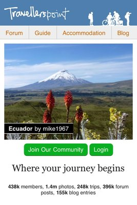Mobile-friendly Travellerspoint