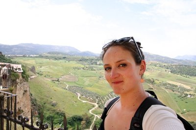 Kellie in Ronda, Spain