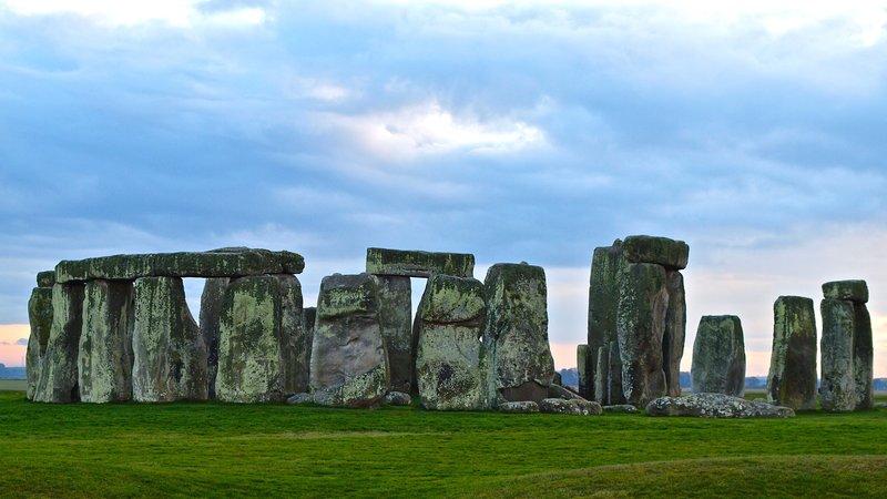 """""""Stormclouds over Stonehenge"""""""