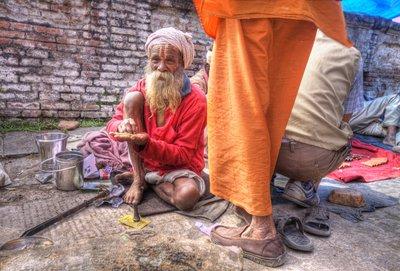 hindoe holy men
