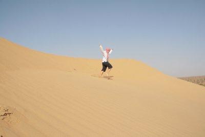 The dunes at the Great Thar Desert