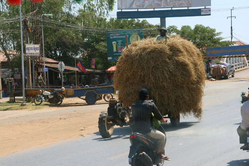 Haystack on the Move