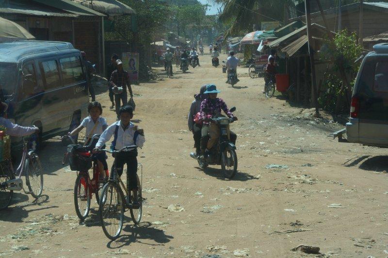 Dusty Back Roads in Local Village