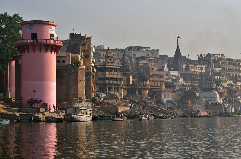 View Towards Manikarnika Ghat