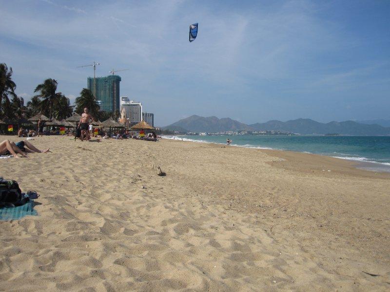 Kite Surfing on Nha Trang Beach
