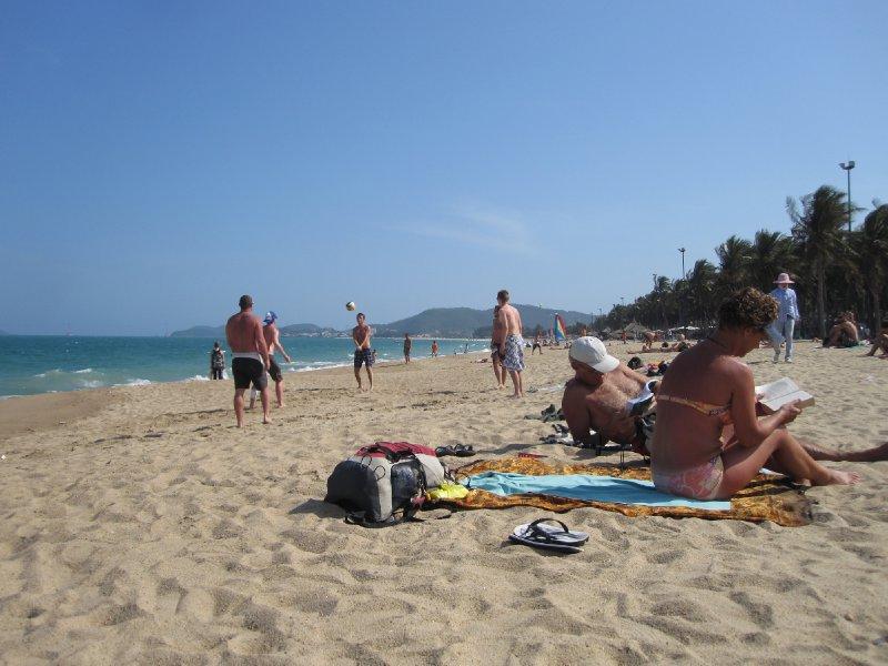 View Along the Honky Tonk Beach