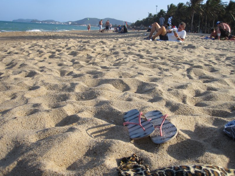 Nha Trang Bach 100 Metres from our Hostel