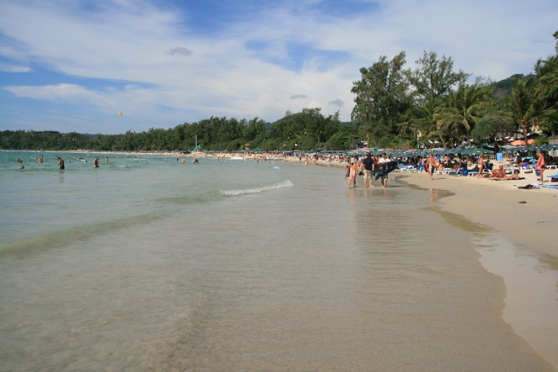 Kata Beach looks okay, With Old Topless Women Cropped Out