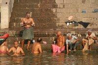 Old Men Bathers