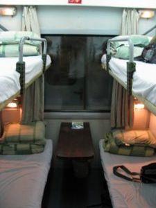 Sleeper Train Hanoi to Hue