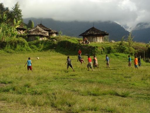 Mohomo soccer match
