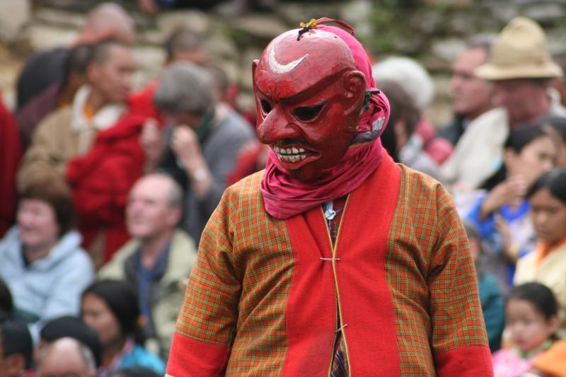 Fool in Bumthang Tsechu