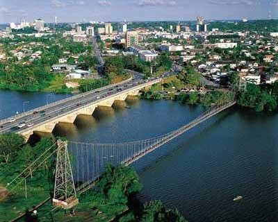 Satok Suspensin Bridge