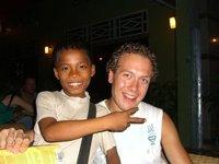 A new friend in Phnom Penh...