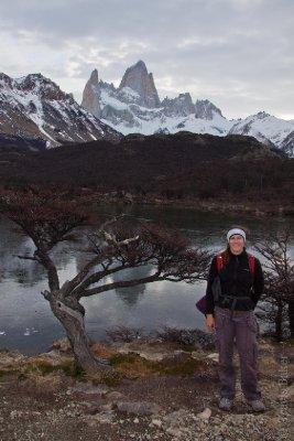 Lagoon with Cerro Fitz Roy