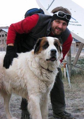 Lorenzo the ginormous dog