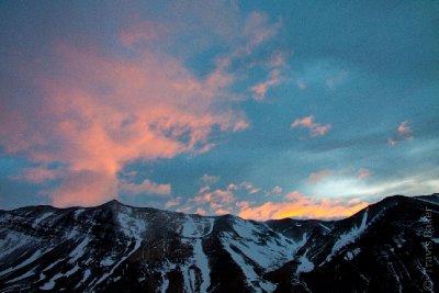 Sunrise from Mirrador Los Torres