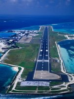 Aerial View of Male Int'l Airport