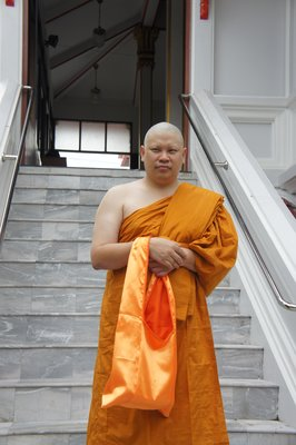 one day i become to monk