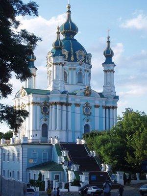 St.Andrew's Church in Kiev
