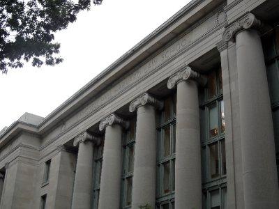 Langdell Hall, Harvard University, Cambridge, Massachusetts