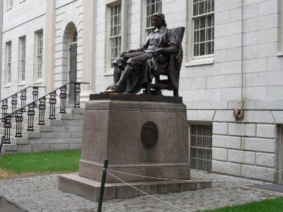 Statue of John Harvard, Cambridge, Massachusetts