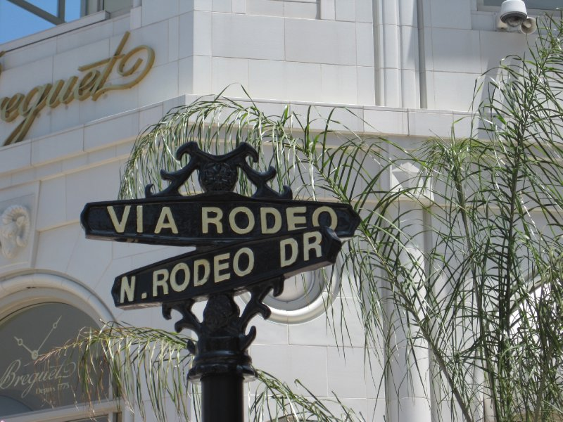 Road Sign, Beverly Hills