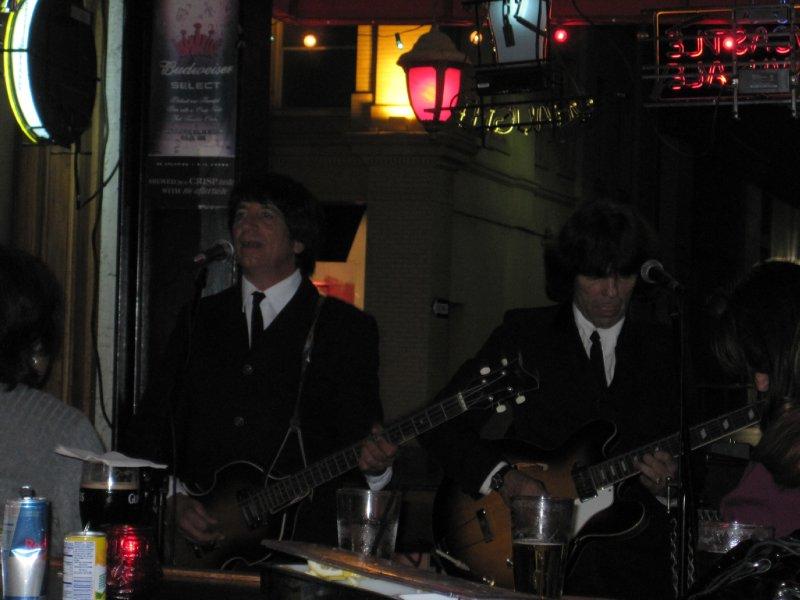 Number 9 Beatles Tribute Band at the Britannia Pub, Santa Monica