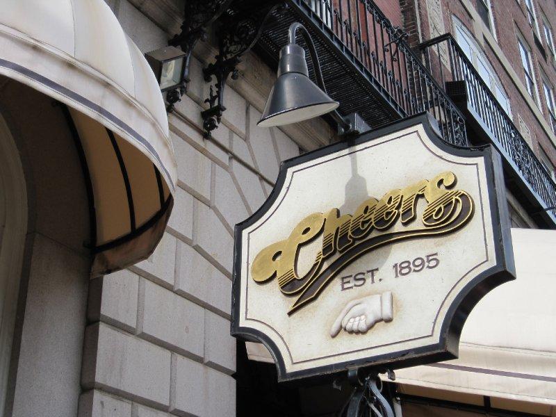 Cheers Sign, Boston, Massachusetts