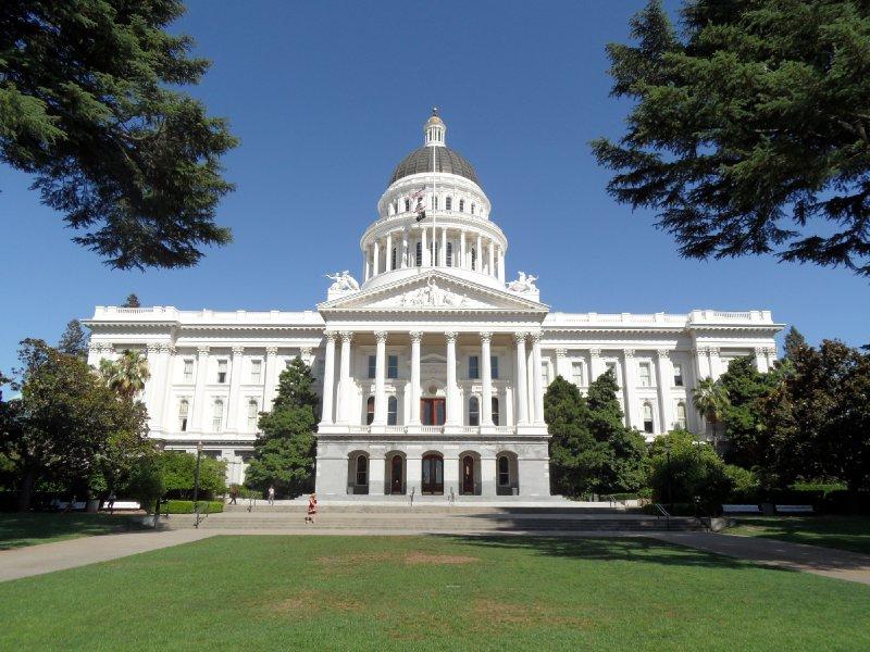 The California State Capitol, Sacramento
