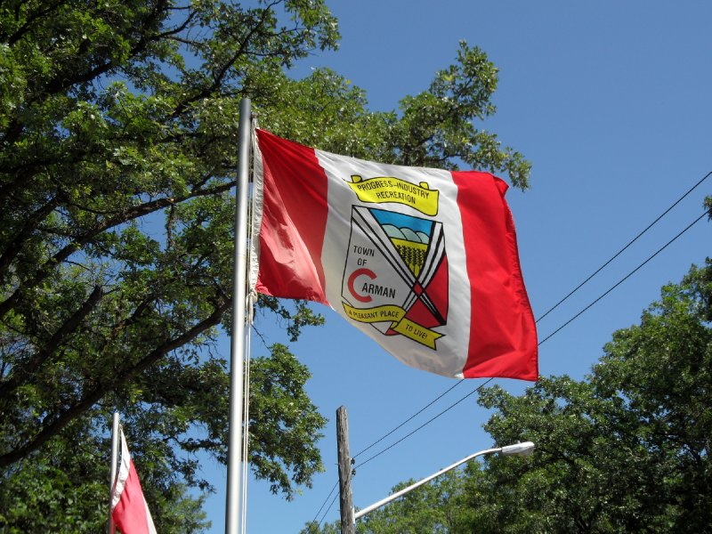 Carman Flag, Manitoba